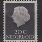Netherlands 1953/71 - Scott 347 MH - 20c, Queen Juliana (9-656)