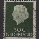 Netherlands 1953/71 - Scott 354  used - 50c, Queen Juliana (9-671)