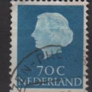 Netherlands 1953/71 - Scott  357  used - 70c, Queen Juliana (9-675)
