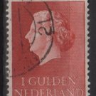 Netherlands 1954/57 - Scott  361  used -  1g, Queen Juliana (9-683)