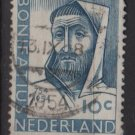 Netherlands 1954 - Scott 365 used - 10c, St Boniface  (9-685)