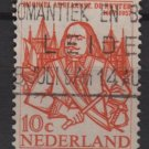 Netherlands 1957 - Scott  370  used -  10c, Admiral M.A. De Ruyter   (9-691)