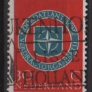 Netherlands 1959 - Scott 378 used - 30c, NATO Emblem (9-703)