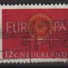 Netherlands 1960 - Scott 385 used - 12c, Europa issue (9-707)