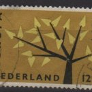 Netherlands 1962 - Scott 394 used - Europa Issue  (9-711)