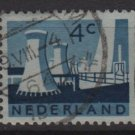 Netherlands 1962 ~ 1966 - Scott 399 used - Cooling Tower  (9-712)