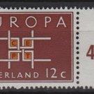 Netherlands 1963 - Scott 416 MH- 12c., Europa   (9-723)