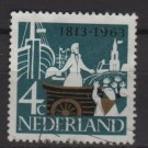 Netherlands 1963 - Scott 418 used – 4c, 150th of the founding    (9-727)