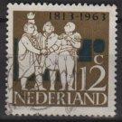 Netherlands 1963 - Scott 420 used - 12c, GK van Hogendorp  (9-728)