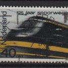 Netherlands 1964 - Scott 426 used – 40c,  Railroads 125th anniv.  (9-741)