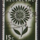 Netherlands 1964 - Scott 428 used  15c,  Europa issue   (9-745)