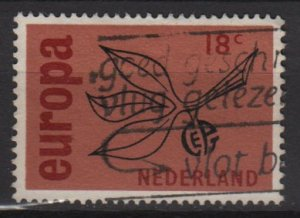 Netherlands 1965 - Scott 438 used - 18c, Europa Issue  (9-755)