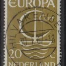 Netherlands 1968 - Scott 441 used - 20c, Europa Issue   (9-757)