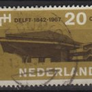 Netherlands 1967 - Scott 443 used - 20c, Delft University (9-760)