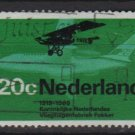 Netherlands 1968 - Scott 456 used - 20c, Plane  (9-761)