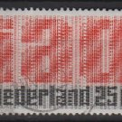 Netherlands 1969 - Scott 458 used - 25c, IAO 50th Anniv  (9-762)