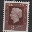 Netherlands 1969/75 - Scott 461  MH - 30c, Queen Juliana (9-768)
