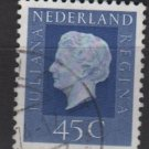 Netherlands 1969/75 - Scott 463 used - 45c, Queen Juliana (9-774)
