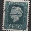 Netherlands 1969/75 - Scott 465 used - 60c, Queen Juliana  (9-778)