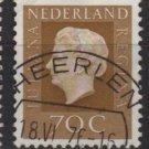 Netherlands 1969/75 - Scott 466 used - 70c, Queen Juliana  (9-780)