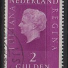 Netherlands 1969/75 - Scott 471A used -  2g, Queen Juliana   (9-789)
