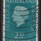 Netherlands 1969/75 - Scott 472  used -  2.50g, Queen Juliana (9-791)