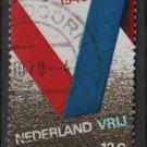 Netherlands 1970- Scott 482 used - 12c, V for Victory   (9-793)