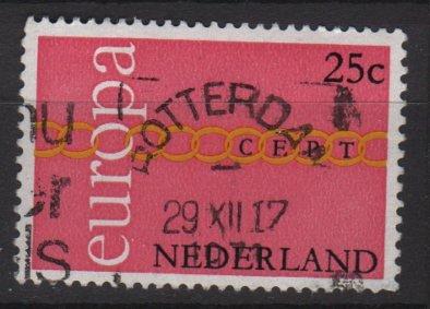 Netherlands 1971 - Scott 488 used - 25c, Europa Issue (9-796)