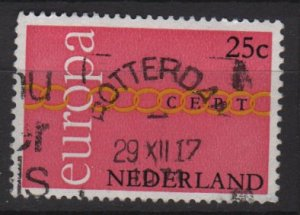 Netherlands 1971 - Scott 488 used - 25c, Europa Issue (9-796)