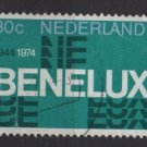Netherlands 1974 - Scott 518 used - 30c, Benelux Anniv  (9-806)