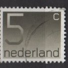 Netherlands 1976/86  - Scott 536 used - 5c, Numeral (9-808)