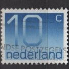Netherlands 1976/86 - Scott 537 used - 10c, Numeral  (9-810)