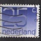 Netherlands 1976/86  - Scott 538 used - 25c, Numeral  (9-812)