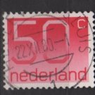 Netherlands 1976/86  - Scott 541 used - 50c, Numeral (9-817)