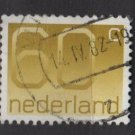 Netherlands 1976/86 - Scott 544 used - 60c, Numeral (9-823)