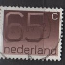 Netherlands 1976/86 - Scott  545 used - 65c, Numeral (9-825)