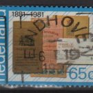 Netherlands 1981 - Scott 611 used - 65c, Savings bank Book  (9-839)