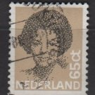 Netherlands 1981/86 - Scott 620 used - 65c, Queen Beatrix  (9-843)