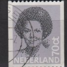 Netherlands 1981/86  - Scott 632 used - 70c,  Queen Beatrix  (9-850)