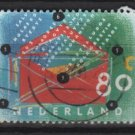 Netherlands 1993 – Scott  845 used – 80c, Letter writing day  (9-399)