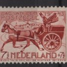 Netherlands 1943, Semi-postal - Scott B148 MH - 7.1/2c + 7.1/2c, 19th Cent  mail cart (10-9)