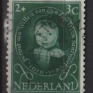 Netherlands, semi-postal, 1955 - Scott B286 used - 2c + 3c, Portraits  (10-41)