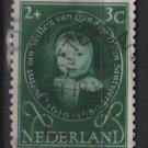 Netherlands, semi-postal, 1955 - Scott B286 used - 2c + 3c, Portraits  (10-41)