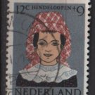 Netherlands, semi-postal, 1960 - Scott B351  used -  12c + 9c, regional costumes (10-62)