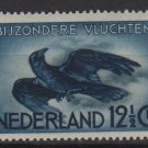 Netherlands, Airmail, 1938/53 - Scott C11  MH - 12.1/2c,  Crow in flight (10-71)