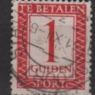 Netherlands, Postage due 1947/58  - Scott J105  used - 1g, Numeral (10-76)