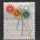 Netherlands 1988 - Scott 739 used - 50c, Holiday Greetings  (10-126)
