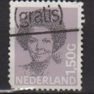 Netherlands 1986-90 - Scott 686 used - 1.50g, Queen Beatrix type of '81 (10-128)