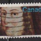 CANADA 1973 - Scott 615 used - 8c,  Jeanne Mance (10-166)