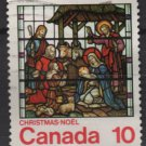 Canada 1976 - Scott 698 used - 10c, Nativity Stained Glass window   (10-169)